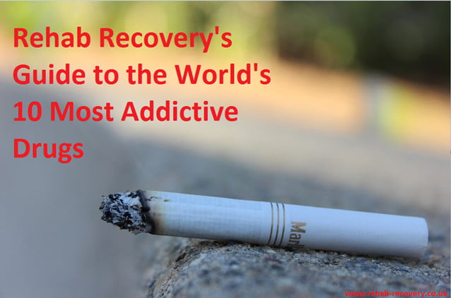 The 10 Most Addictive Drugs in the World - Rehab Recovery